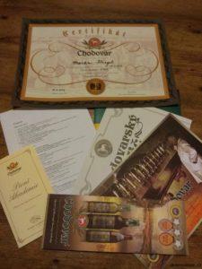 """Informační kousky, víkendový program a certifikát """"Bakaláře pivních věd"""""""